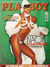 PLAYBOY D 12/1999 Dezember - Naomi Campbell, James Bond + BMW Z8, Tatjana Patitz