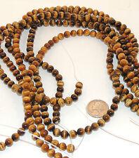 Tiger's Eye 6mm Gemstone Beads (5730)