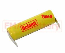 2Pcs Ni-Cd AA 1.2V 900mAh Rechargeable Battery Nickel Cadium cell 14*49mm U/R