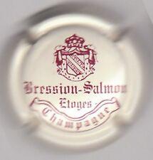 capsule de champagne BRESSION SALMON, crème et bordeaux