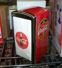 COCA COLA COKE MATCHING CAFE STYLE NAPKIN DISPENSER Wholesale Lot case of 12
