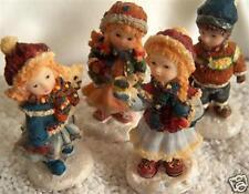 8  sehr schöne detailgetreue Winterkinder