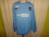 "Manchester City Original Reebok Sweatshirt/Pullover 2003/04 ""FIRST ADVICE"" Gr.L"