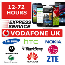 NOKIA LUMIA BLACKBERRY HTC XPERIA E5 X1 Z10 SAMSUNG CODE VODAFONE UK UNLOCK