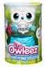 Owleez Baby Flying Owl Interactive Pet - White