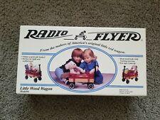 VINTAGE RADIO FLYER LITTLE WOOD WAGON Model #6 – BRAND NEW UNOPENED