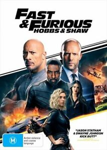 Fast and Furious - Hobbs and Shaw DVD