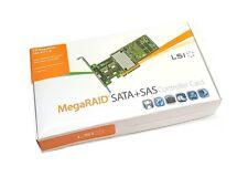 LSI Megaraid SAS 9266-4i SATA / SAS 1GB Controller RAID 5 6G PCIe x8 2.0 NEU