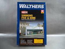NIB SEALED WALTHERS CORNERSTONE SIMMONS FIVE & DIME STORE HO KIT #933-3464