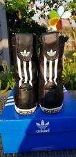ADIDAS Originals ADRIA Hi Sleek Gazelle ZX 2011 womens black trainers boots