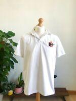Polo Ralph Lauren Vintage White Sailing Shirt Men's Large