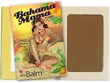 theBalm Bahama Mama Matte Bronzer, Dark Tan 0.25 oz