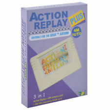 Action Replay Plus Sega saturn  función tarjeta RAM 4m Expansion memoria RAM