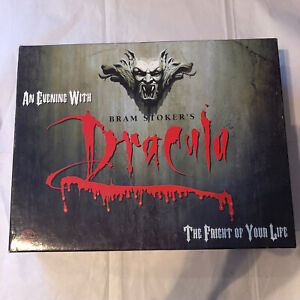 Vintage Bram Stokers Dracula Board Game 1992 Cassette Made In Australia