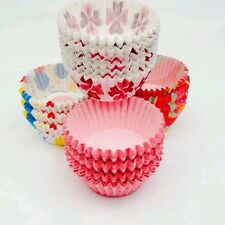 400 X Colourful Paper Cup Cake Cases Liner Baking