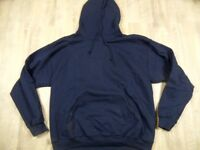 GILDAN Basic Winter Kapuzensweat / Hoodie blau Gr. L TOP KD1217