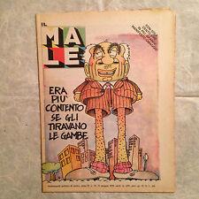 IL MALE SETTIMANALE POLITICO DI SATIRA N.19 MAGGIO 1979