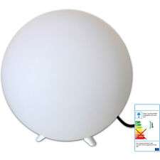 GARTENLAMPE KUGEL 30 cm LED SMOOZLIGHT m. Farbwechsel - Kugelleuchte Leuchtkugel