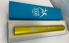 COLLECTABLE 2006 Melbourne Commonwealth Games GOLD Athletics Baton in box