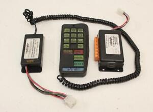 Woodway Mark 3 Optilink control system/switch panel for lightbars/beacons/LEDs