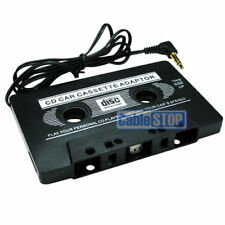 BLACK IN CAR CASSETTE TAPE ADAPTER FOR IPHONE 3G/4G MP3 IPOD NANO CD CASSETE NEW