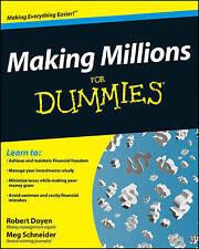 Making Millions For Dummies by Lita Epstein, Robert Doyen, Howard Brecher, Sand…