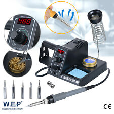 60W Lötkolben regelbare digitale Feinlötkolben Pro. Lötstation 480°C ESD LED Zin