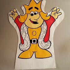 Vintage Burger King Puppet Plastic Kids Meal Prize Restaurant Rare
