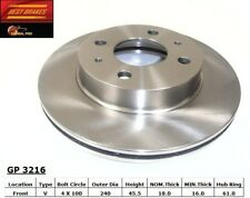 Disc Brake Rotor-Wagon Front Best Brake GP3216