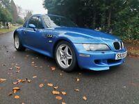 1998{S} BMW Z3M Convertible,Estoril Blue With A Factory Hardtop