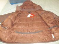 Marmot Yukon Parka Brown McMurdo AK Mammoth Big Goose Down Jacket Coat 3X / 4XL