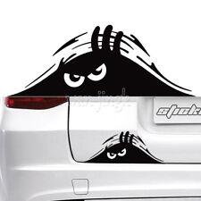 Car Windshield Funny Black Peeking Monster Reflective Graphics Sticker Decals