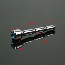 NEW Stainless Steel Diamond Urethral Sounds Urethral Plug Male Dilator Beginner