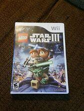 Wii LEGO STAR WARS III+CLONE WARS.