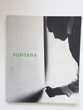 Lucio Fontana 1899-1968 A Retrospective Guggenheim Museum 1977 Groupe ZERO
