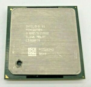 INTEL PENTIUM 4 SL6WK - 3,00GHz / 512 KB / 800MHz -  Sockel PGA478 #612