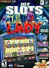 IGT Slots : Lil Lady PC (Windows/Mac, 2012)  BRAND NEW SEALED