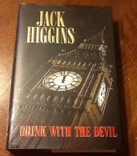 Drink with the Devil by Jack Higgins (1996, Hardcover 1st Edition 1st Print)