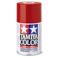 Rouge Italien Brillant Spray de 100ml-tamiya Ts8