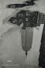 "Andre Kertesz ""Puddle 9/17/1967, New York"" Vintage Sheet Fed Gravure"