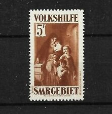 Germany Saar 1931 Mnh Scott# B36 F/Vf highest value in set