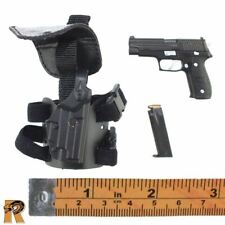 Police ESU K9 Unit - Pistol and Leg Holster - 1/6 Scale Soldier Story Figures