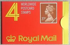 More details for gb qeii 1988 £1.08 booklet 4x 27p imperf horiz edges cyl b2 sg gf2 from my coln