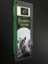 FRANKENWEENIE Movie Film Cell Bookmark - complements movie dvd poster