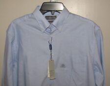 Covington Men's NWT Size 15-151/2 Long Sleeve Button Front Dress Shirt Blue