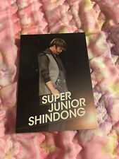 Super Junior Shindong Shining Starcard Star Collection Official PhotoCard Kpop