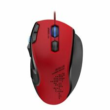SPEEDLINK 1.8m Wired USB Scelus 3200DPI Optical Gaming Mouse Black/Red