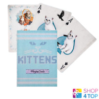 ELLUSIONIST MADISON KITTENS BLAU SPIELKARTEN DECK MAGIE TRICKS KATZEN NEU