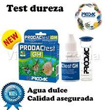 ACUARIO TEST GH DUREZA PRODAC analisis agua