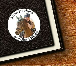 Your Own Horse/Pony Photo Labels/Seals - This belongs to, Party Thank You/Bags